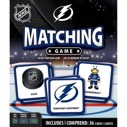 NHL Tampa Bay Lightning Matching Game - image 1 of 3