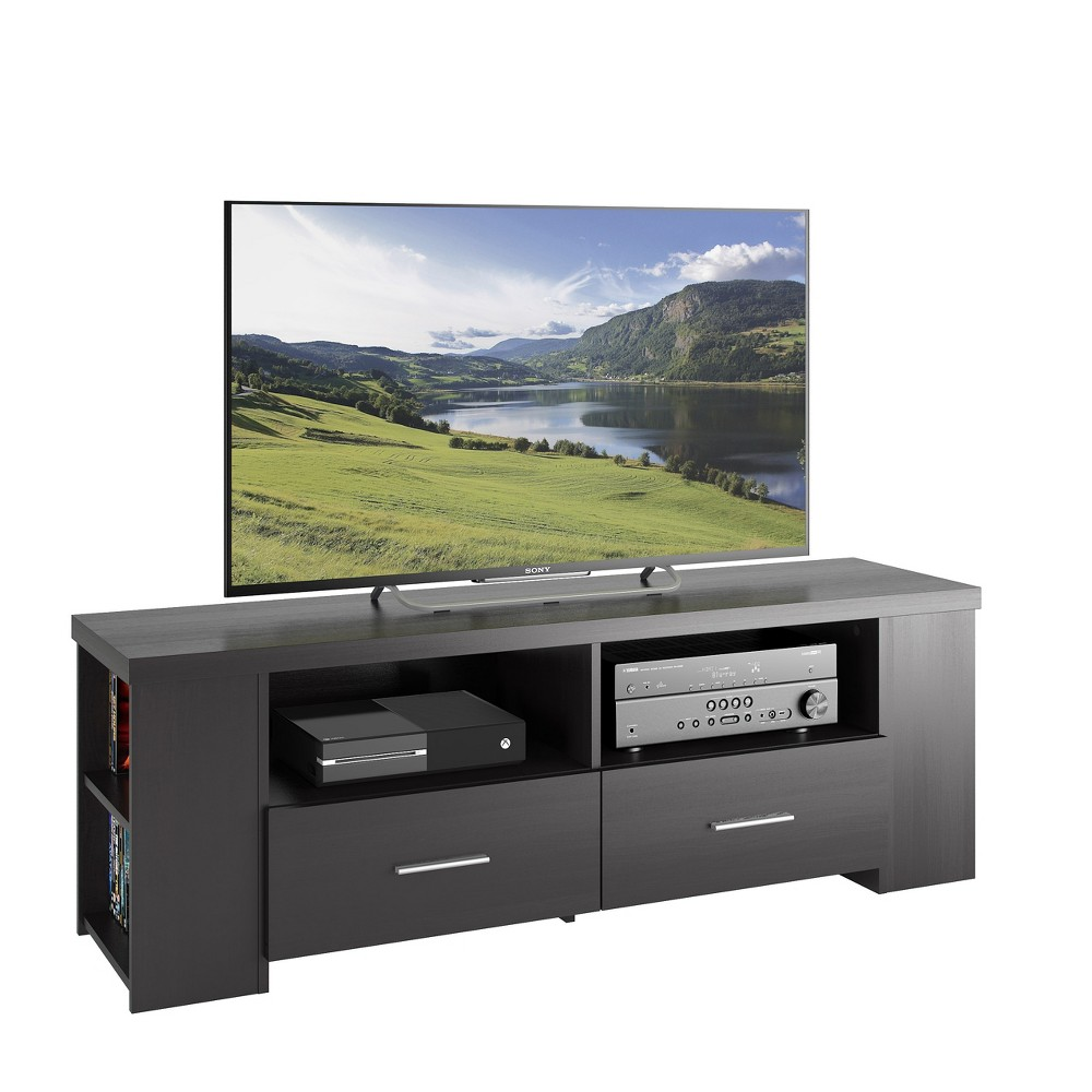 "Image of ""Bromley Ravenwood TV Component Bench Black 60"""" - Sonax"""