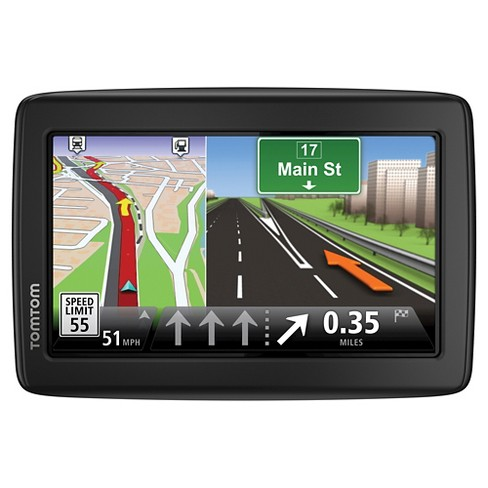 "TomTom - VIA 1515M 5"" GPS with Lifetime Map Updates - Black/Gray (1EN505208) - image 1 of 3"