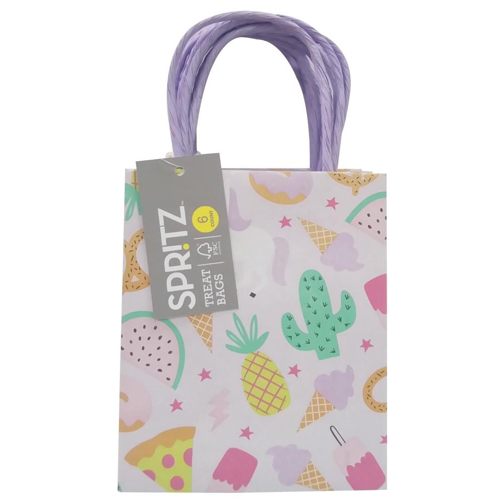 6ct Sweet Treats Gift Bags - Spritz