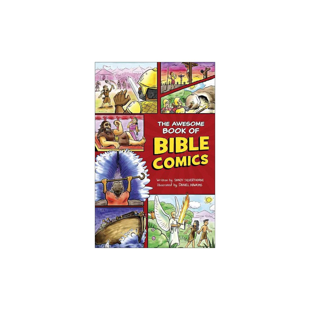 Awesome Book of Bible Comics (Paperback) (Sandy Silverthorne)