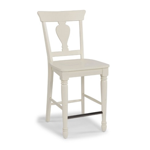 Dover Solid Wood Counter Height Barstool White Home Styles Target