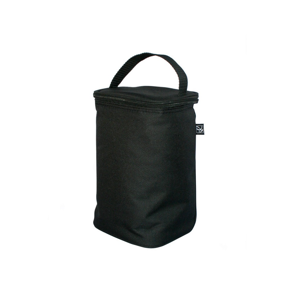 Image of JL Childress Two Cool Double Bottle Bag with Ice Pack - Black