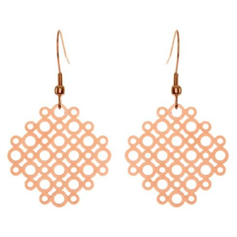 ELYA® Geometric Circle Dangle Earrings - image 1 of 1