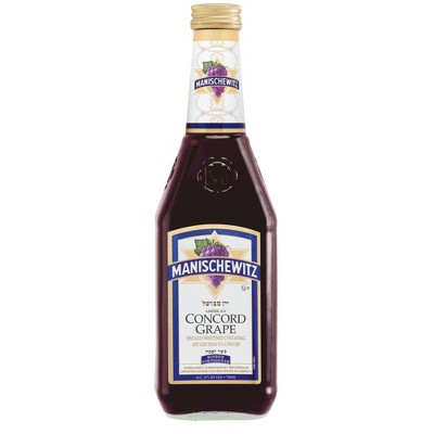 Manischewitz Concord Grape Fruite Wine - 750ml Bottle