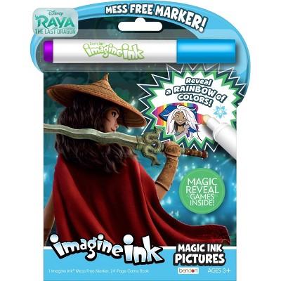 Raya and The Last Dragon Imagine Ink Book