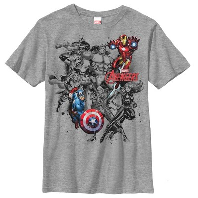 Boy's Marvel Avengers in Color T-Shirt