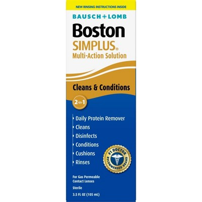 Boston Simplus Multipurpose Contact Lens Solution - 3.5 fl oz