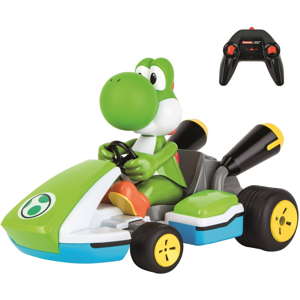 Carrera Rc Mario Kart Yoshi Race Kart With Sound