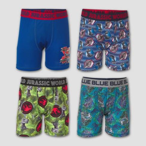 Boys' Jurassic World: Fallen Kingdom 4pk Underwear - image 1 of 2