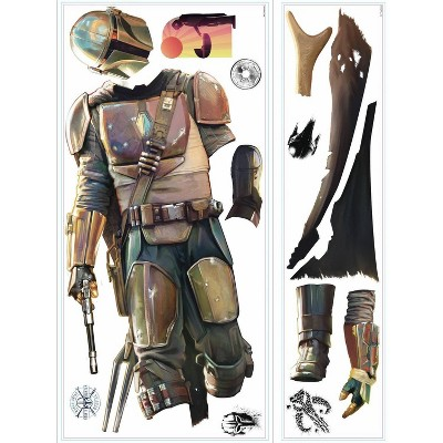 Star Wars The Mandalorian Giant Peel and Stick Wall Decal - RoomMates