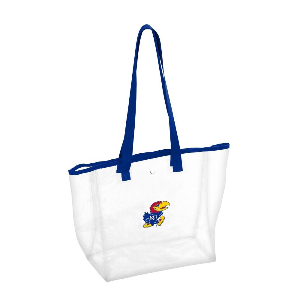 NCAA Kansas Jayhawks Stadium Clear Bag, Adult Unisex