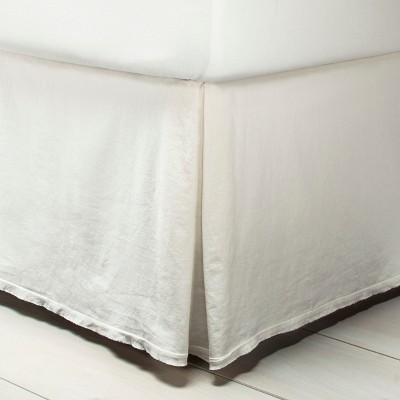 Queen Bedskirt Sour Cream - Hearth & Hand™ with Magnolia