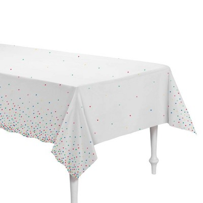 """54""""x84"""" Dotted Everyday Table Cover - Spritz™"""