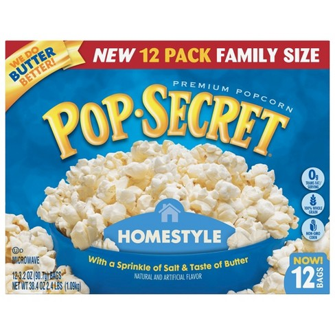 Pop Secret® Homestyle Microwave Popcorn - 12ct - image 1 of 3
