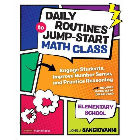 Daily Routines to Jump-Start Math Class, Elementary School - (Corwin Mathematics) (Paperback) - image 1 of 1
