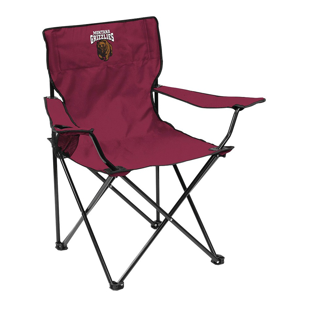 Montana Grizzlies Quad Folding Camp Chair with Carrying Case