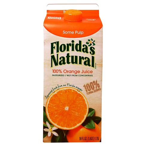 Florida's Natural Pulp Orange Juice - 59oz - image 1 of 1
