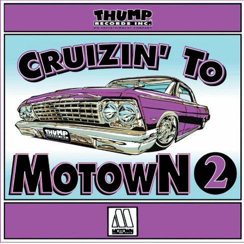 Various - Cruzin to motown 2 (CD) - image 1 of 1