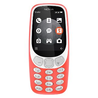 Nokia 3310 TA-1036 3G GSM Phone (Unlocked) - Red