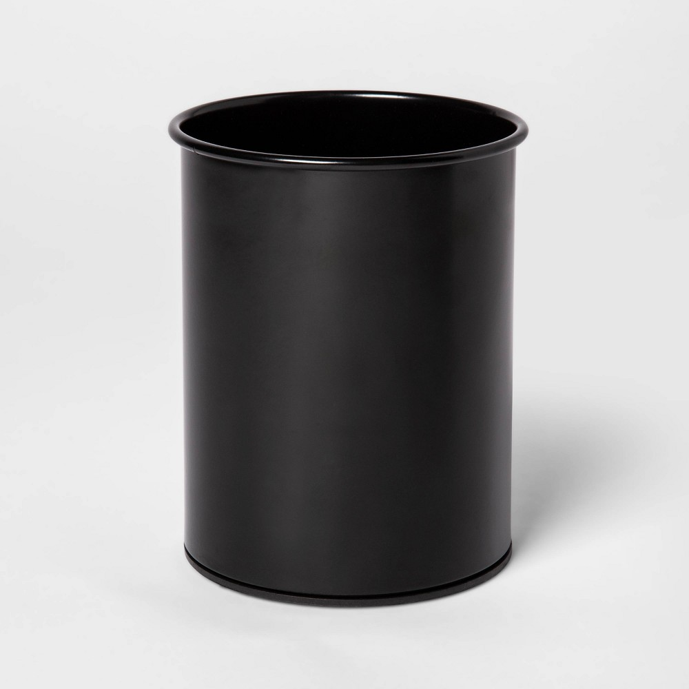 Image of Stainless Steel Utensil Storage Container Black - Threshold