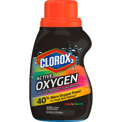 Stain Removers: Clorox 2 Active Oxygen