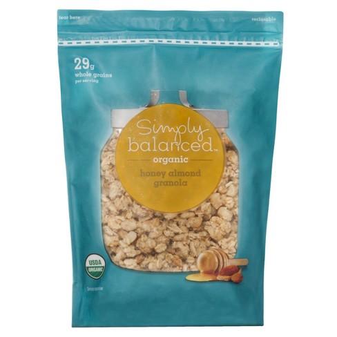 Organic Honey Almond Granola -12oz - Simply Balanced™ - image 1 of 2