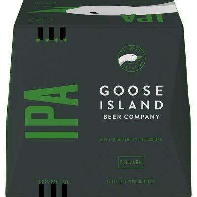 Goose Island IPA Beer - 12pk/12 fl oz Bottles