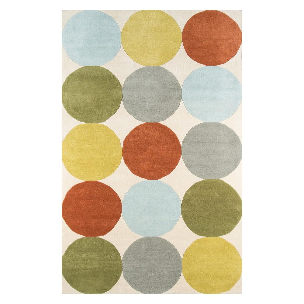 8'X10' Polka Dots Tufted Area Rug - Novogratz By Momeni, Multi-Colored