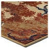 Abstract Forrest Rug - Orian - image 3 of 4