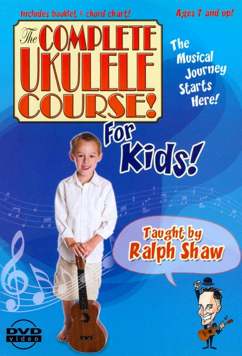 Complete ukulele course for kids (DVD) - image 1 of 1