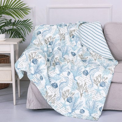 Galapagos  Quilted Throw - Levtex Home