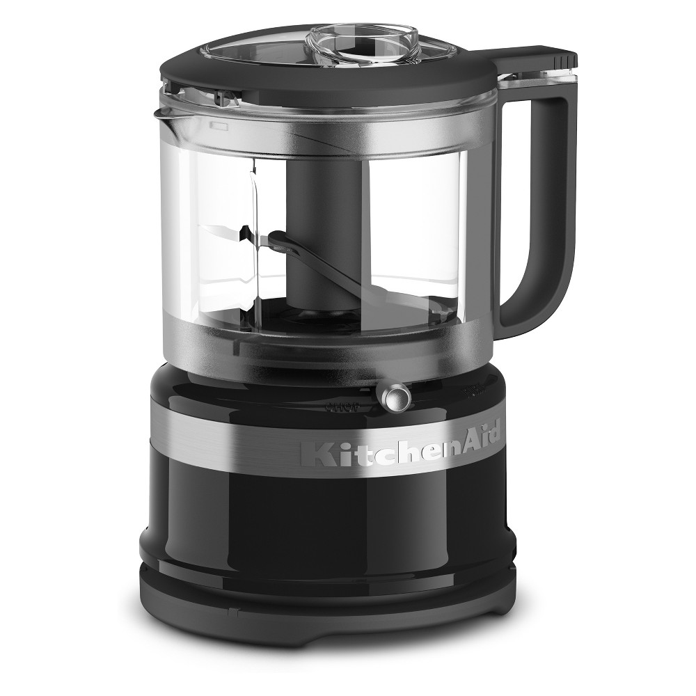 KitchenAid Refurbished 3.5 Cup Mini Food Processor – Black RKFC3516OB 53422676