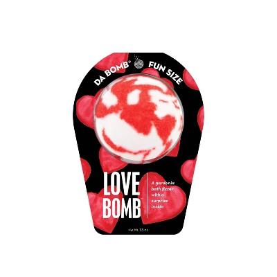 Da Bomb Bath Fizzers Love Bomb - 3.5oz