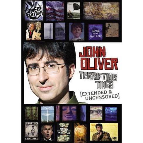 John Oliver: Terrifying Times (DVD) - image 1 of 1