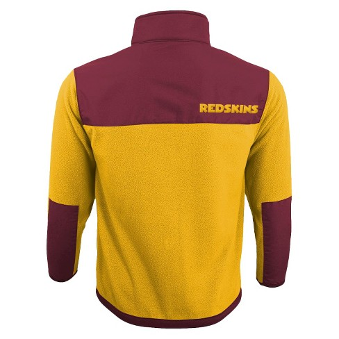 Washington Redskins Zip Fleece Shirt - image 1 of 2