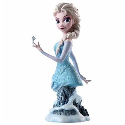 "Disney 7.25"" Blue and White Frozen Elsa Tabletop Figurine"