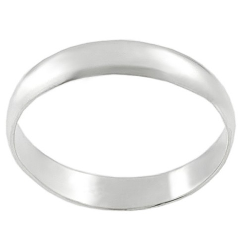 Women's Tressa Collection Sterling Silver Domed Band Ring - image 1 of 3