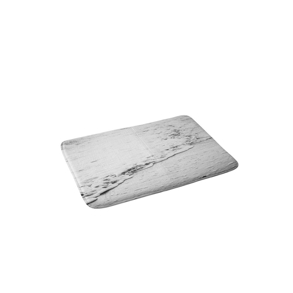 24 34 X36 34 Bree Madden Shore Bath Rug White Deny Designs