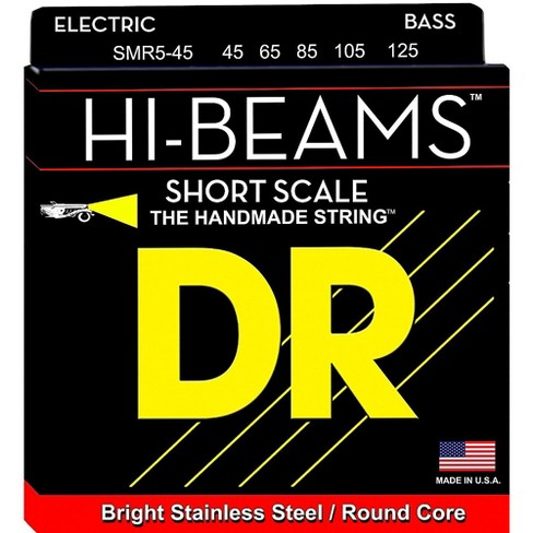 DR Strings Hi Beams Short Scale 5 String Bass Medium (45-125) - image 1 of 1