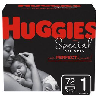 Huggies Special Delivery Disposable Diapers Super Pack - Size 1 - 72ct