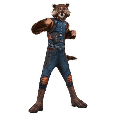 Kids' Guardians of the Galaxy Rocket Deluxe Child Costume - image 1 of 1