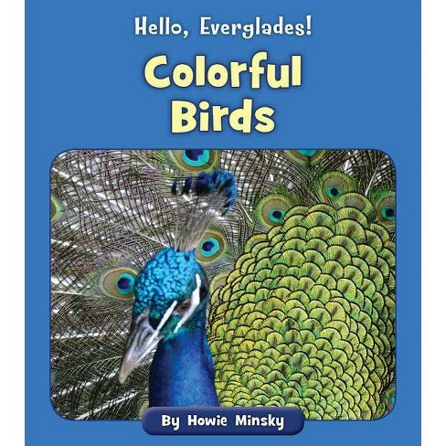 Colorful Birds - (Hello, Everglades!) by  Howie Minsky (Paperback) - image 1 of 1