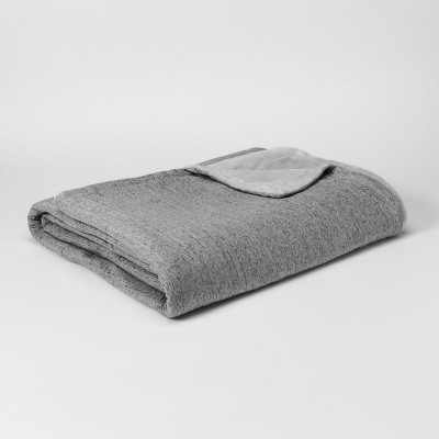 Jersey Plush Blanket (King)Gray - Project 62™
