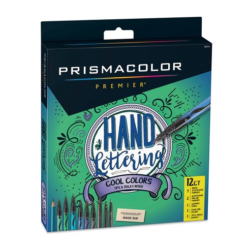 Prismacolor 12ct Hand Lettering Cool Colors - image 1 of 4