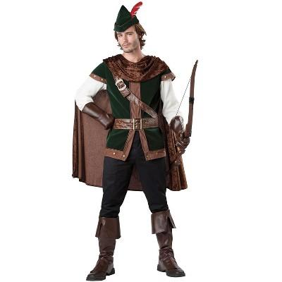 InCharacter Forest Robin Hood Adult Costume