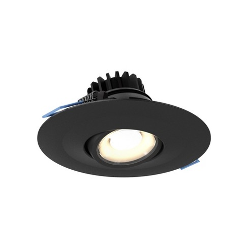 "DALS Lighting LEDDOWNG4 LED Gimbal 4"" Adjustable Recessed Fixture - 3000K & 600 Lumens - image 1 of 1"