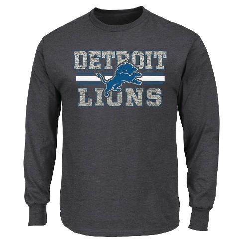 7aed01fe Detroit Lions Men's Long Sleeve T-Shirt L