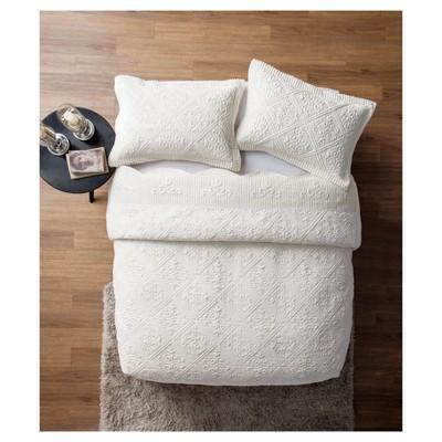 Ivory Wasteland Quilt Set (Full)- VCNY®