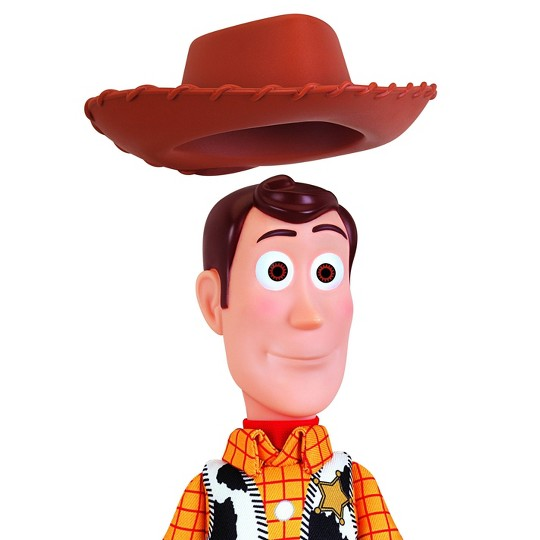"Disney Pixar Toy Story 4 Sheriff Woody 16"" Action Figure image number null"